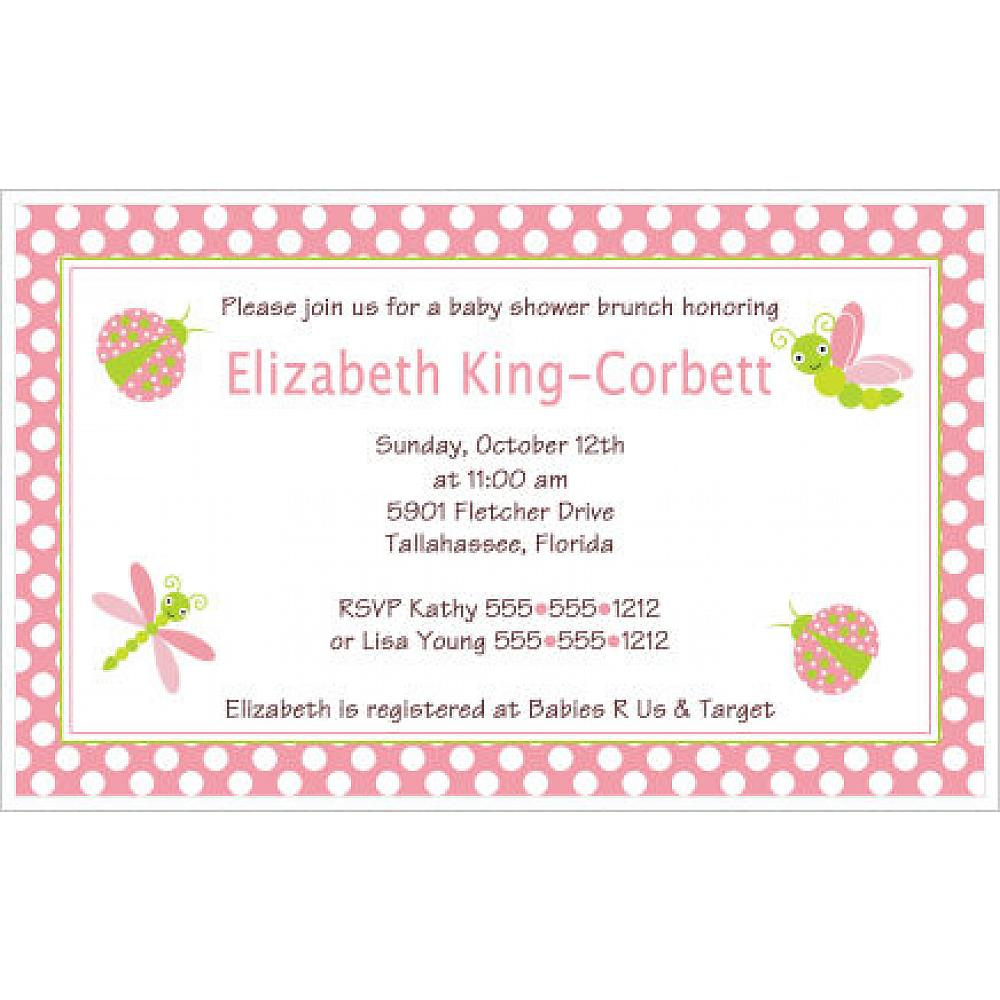 We Offer A Collection Of Custom Made Baby Shower Invitations