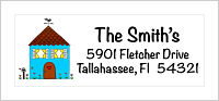 Address Labels - House