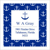 Address Labels - Anchor 2 (Square Label)