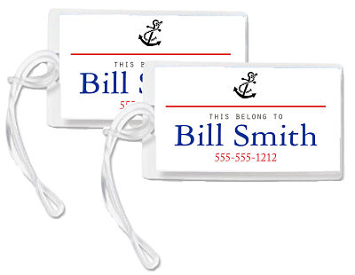 Bag Tags - Anchor