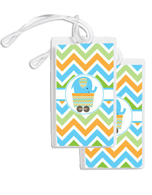 Bag Tags - Cute Elephant