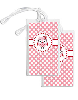 Bag Tags - Miss Owl