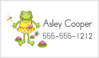 Calling Cards - Miss Froggy