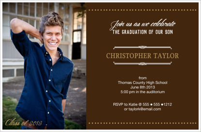 Graduation Invitations - Fun, But Elegant