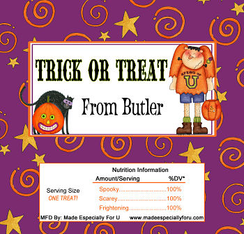 Halloween Candy Bar Wrappers (HCB) - Frankie