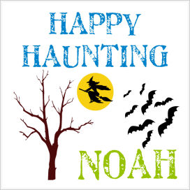 Halloween Enclosure Cards, Tags and Stickers (ECSH) - Happy Haunting