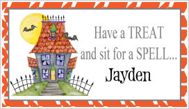 Halloween Enclosure Cards (ECRH) - Set A Spell