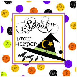Halloween Enclosure Cards, Tags and Stickers (ECSH) - Bats and Witches Hat