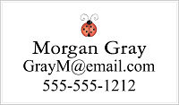 Calling Cards - Lady Bug