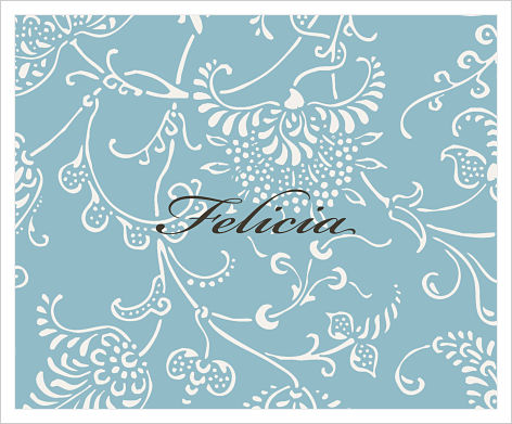 Note Cards - Fun Floral Background