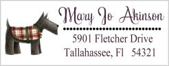 Address Labels - Scottish Terrier Dog