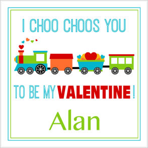 Valentine Tags and Stickers (VTS) - I Choo Choos You