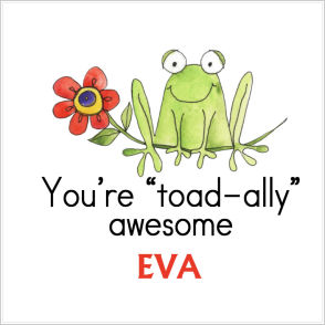 "Valentine Tags and Stickers (VTS) - You're ""Toad-ally"" Awesome!"
