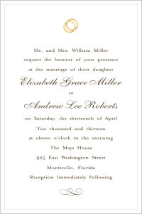 Wedding - Wedding Rigs (Wedding Invitations)